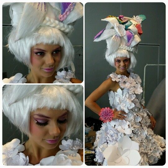 Hair Expo 2014. Makeup by Graduate Janet