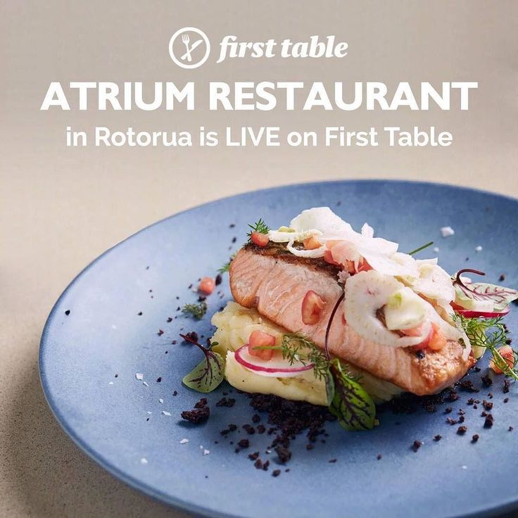 Dine under the stars  . . Book the #firsttable for #AtriumRestaurant in #Rotorua and you'll get 50% off the food bill for 2 to 4 diners . . . One of Rotoruas finest restaurants the Atrium Restaurant is situated at the heart of the Rydges hotel in a light and airy venue where you can dine under the stars. The four-storey central court area has natural lighting palm trees and a cascading waterfall.  The menu offers tasty starters from soup of the day to grilled mussels and teriyaki chicken…