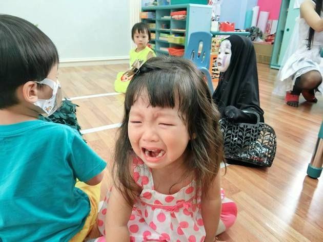 園児がハロウィンでカオナシの仮装に関連した画像-04
