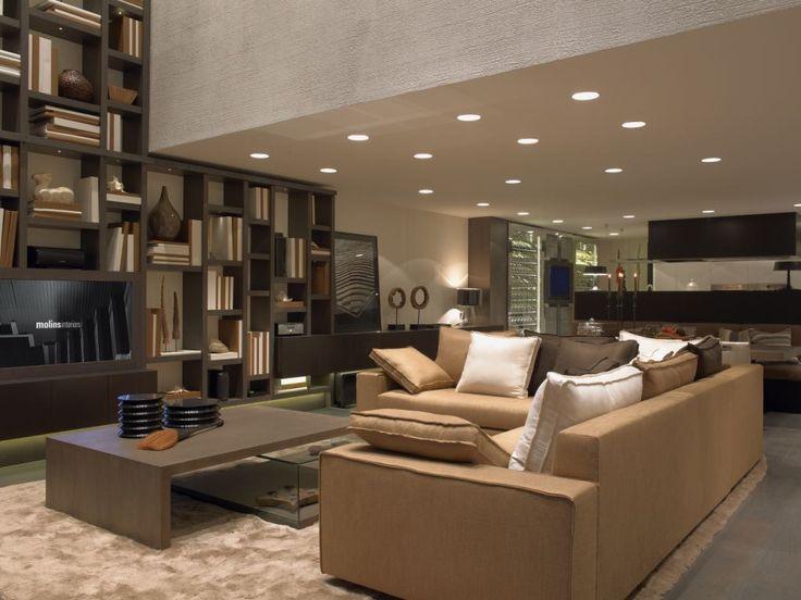 Iluminaci n de salas decoracion pinterest iluminaci n salones y interiores - Lamparas para salones modernos ...