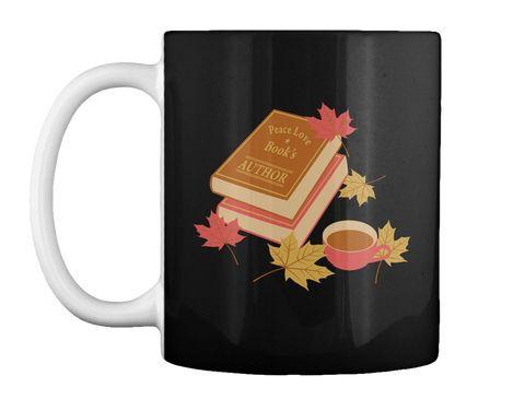 The Author Black Mug Front
