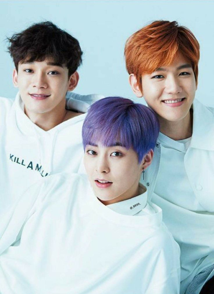 EXO CBX FOR ANAN MAGAZINE