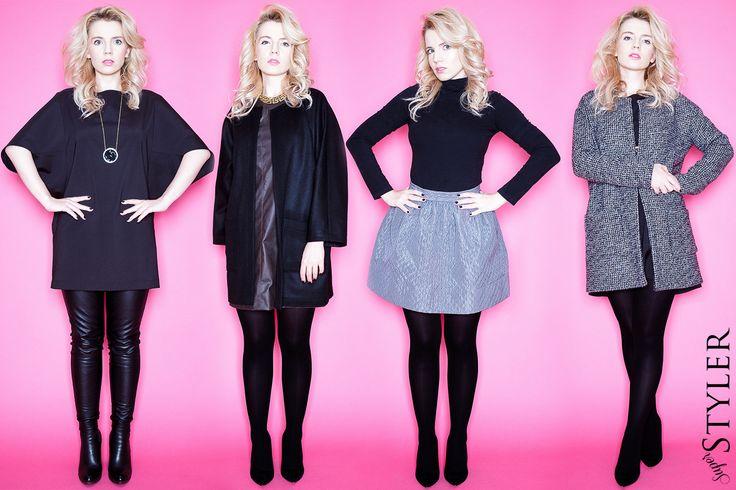 Klasyczne stylizacje na chłodniejsze dni #fashion #moda #stylizacje #blog #superstyler