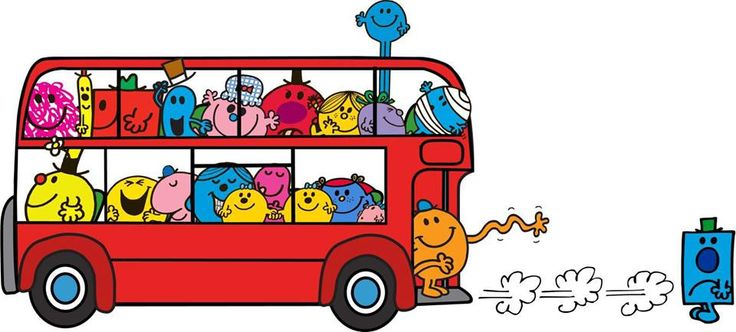 Les Monsieur Madame en bus