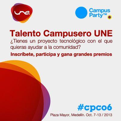 Talento Campusero UNE y #CPCO6
