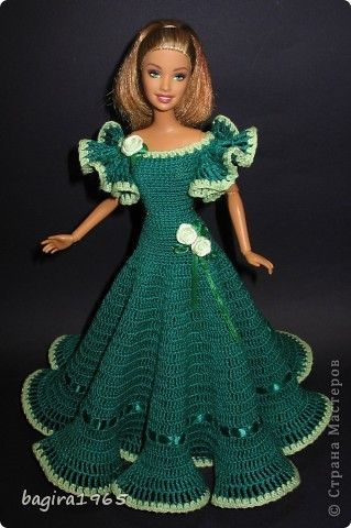 Куклы Вязание Мои куклы одежда для барышень и мадамов Нитки фото 6