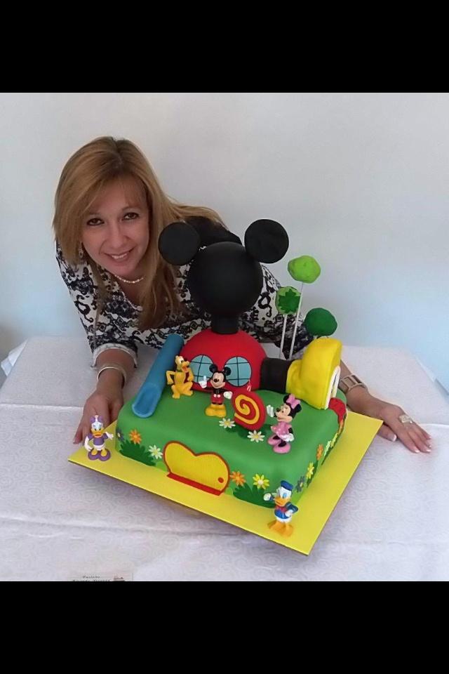 La casa de Mickey Mouse!!! Que mejor sorpresa...