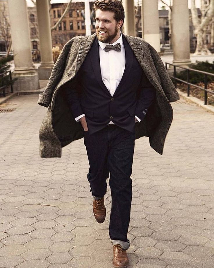 Style has no size! We want to highlight Plus Size Men proud of their body and their outfits