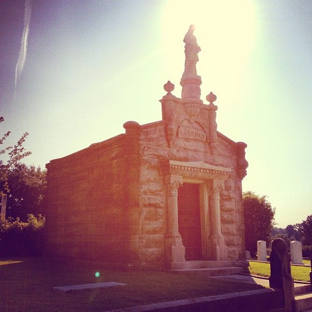 A beautiful place to visit and also one of the best views of the river. #natchezcitycemetery