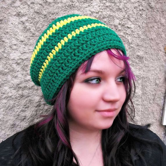 Green Bay Packers Beanie  Slouchy Tam Skull Cap by PowersOfLove, $16.00