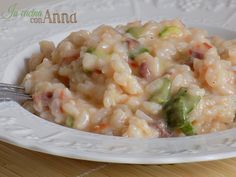 Questo risotto con zucchine e speck è saporitissimo,tra i migliori mai assaggiati...
