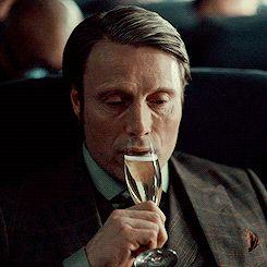 Mads Mikkelsen, Hannibal Season 2 finale.  Cheers.