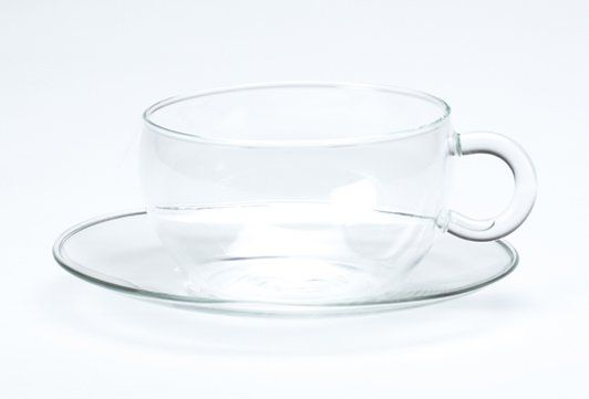 Stockholm Clear Cup & Saucer | T2 Tea