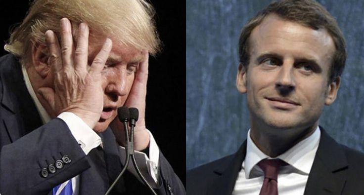 'Liberty, Equality & Fraternity over Discrimination, Bigotry & a Stupid Wall': Internet celebrates Macron win