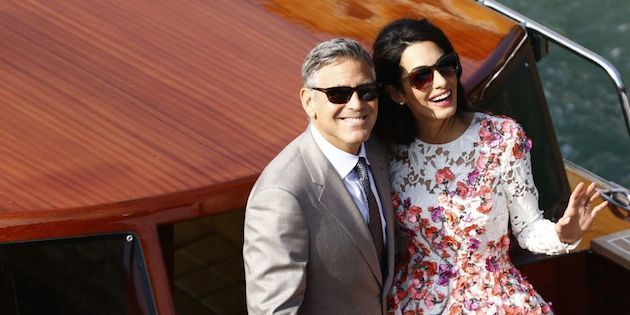 George and Amal Clooney. Photo: Getty