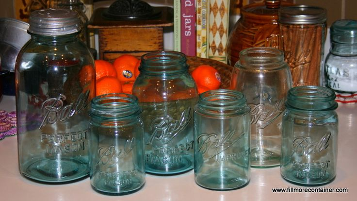 16 oz mason jars 95 best new blue amp green amp purple heritage jars from 10150