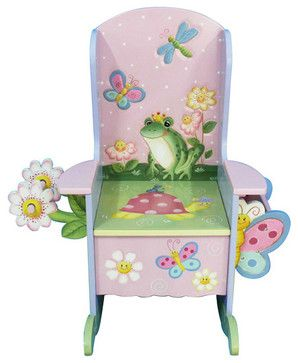 Magic Garden Wooden Potty Chair - traditional - Kids Chairs - Classic Hostess