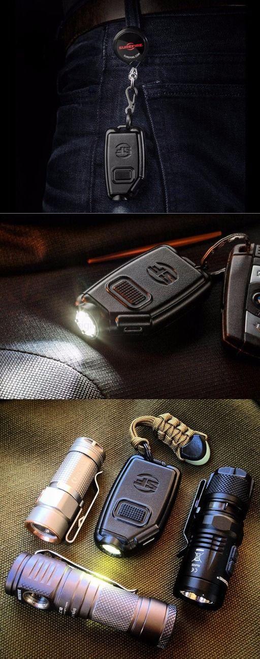 SureFire Sidekick 300-Lumen Ultra-Compact Triple-Output Keychain EDC Everyday Carry FlashLight