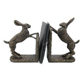 Bramble & Foxglove Hare Bookends