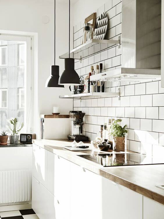 77 Gorgeous Examples of Scandinavian Interior Design Light-and-airy-Scandinavian-kitchen