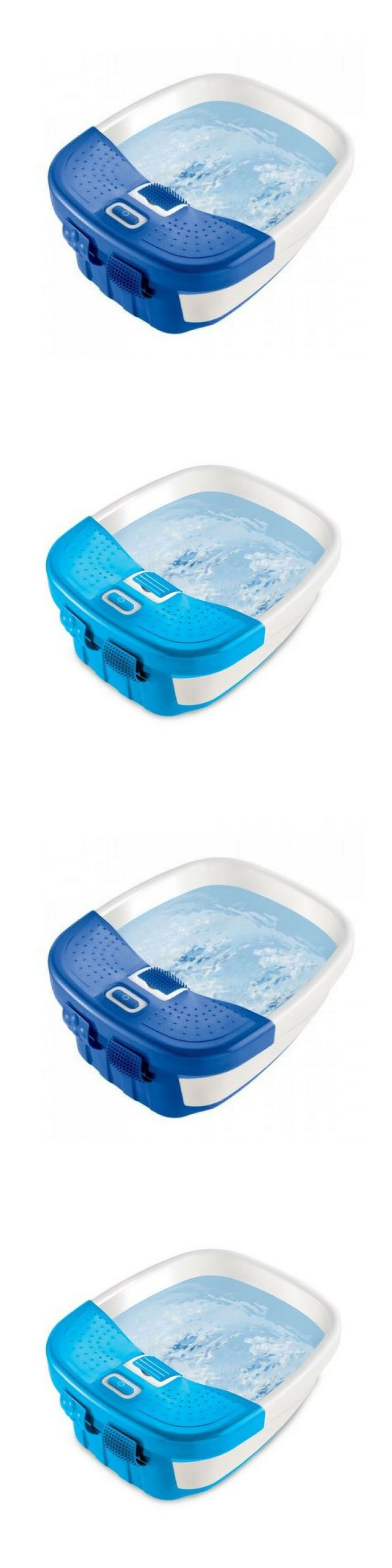 Spas Baths and Supplies: Foot Spa Bath Massager Feet Massage Heat Bubble Relaxation Pedicure Therapy BUY IT NOW ONLY: $34.19