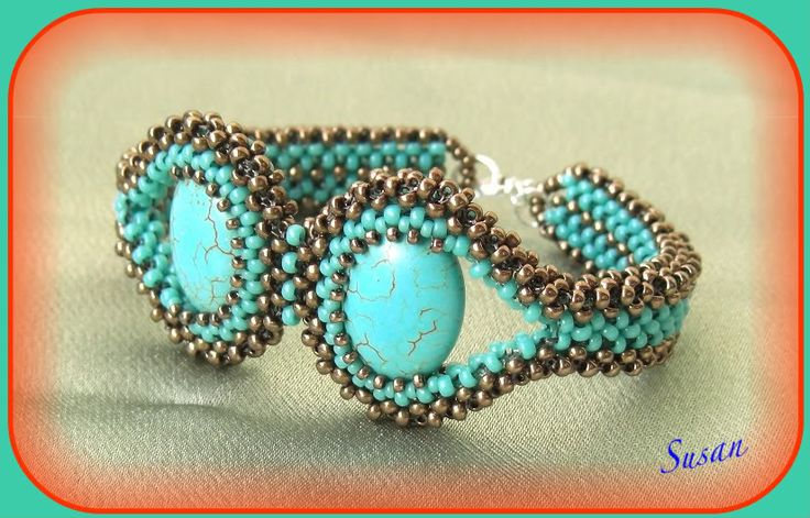 Mina smycken: Turkos set