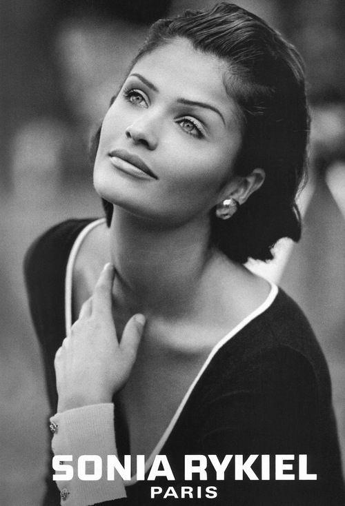 Sonia Rykiel, 1992.  Model: Helena Christensen