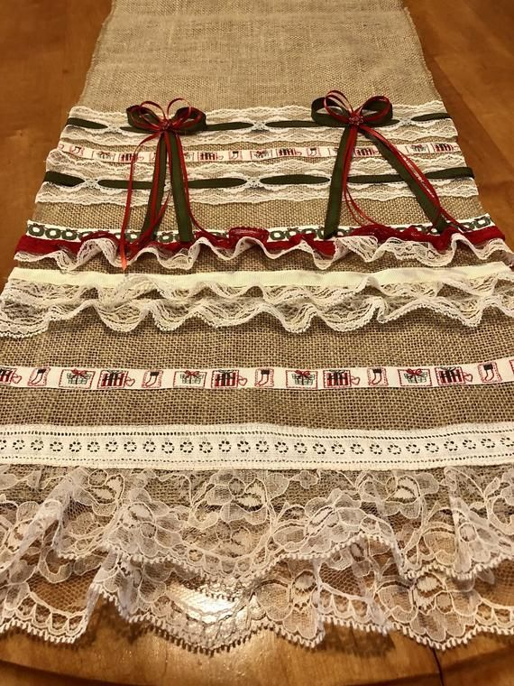 Lace And Romance One Of A Kind Burlap
