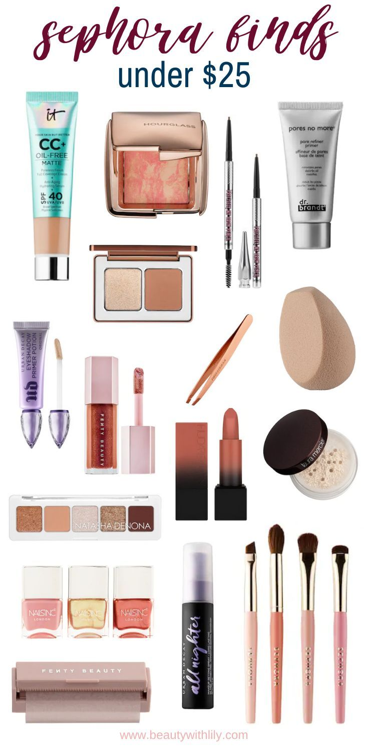 Sephora Finds Under 25 Beauty With Lily In 2020 Affordable Makeup Sephora Makeup Best Makeup Products