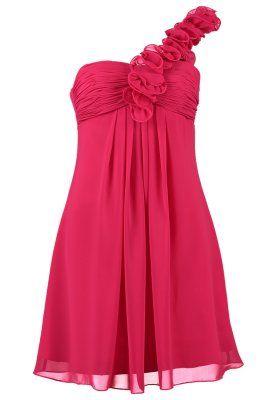 Laona Cocktail dress / Party dress - strawberry pink - Zalando.co.uk