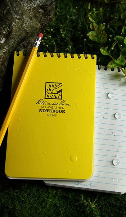 Rite in the Rain Outdoor Journal Kit: Keep notes even during the rain.