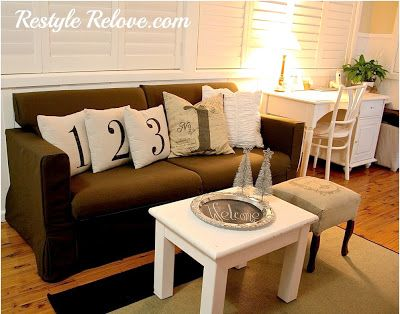 Restyle Relove: My New Ikea Lounge!