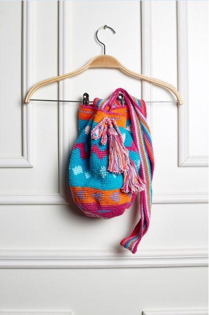 Receitas Círculo - Wayuu Bag Rosa