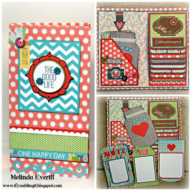 17 best images about scrapbook mini albums on pinterest for Waterfall design in scrapbook