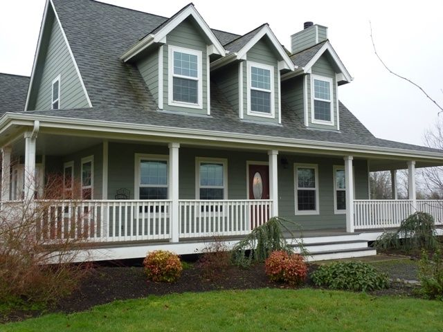 84 best images about porches on pinterest iron balusters for Cape cod floor plans with wrap around porch