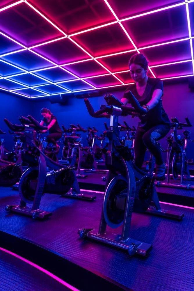 Gallery Of Refuse Indoor Cycling Estudiofernandaorozco 10 Cycling Studio Gym Design Gym Interior