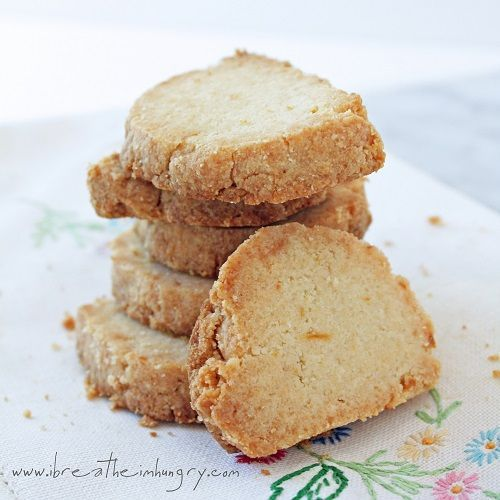 Lemon Almond Shortbread Shared on https://www.facebook.com/LowCarbZen