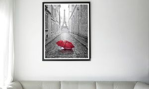 "Groupon - 26""x18"" A Touch of Red Photograph Groupon deal price: $24.99"