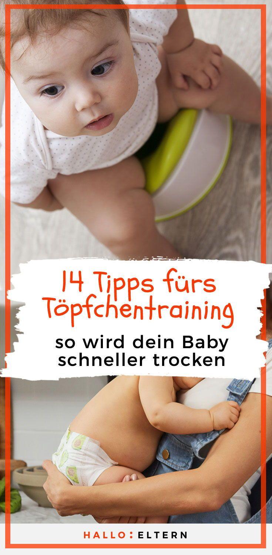 Töpfchentraining: 14 Tipps und dein Kind braucht keine Windel mehr