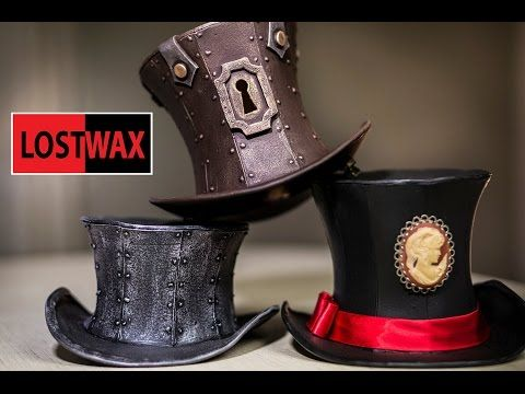 How To Make A Mini Top Hat! Mini Top Hat Pattern and Steampunk DIY instructions - YouTube