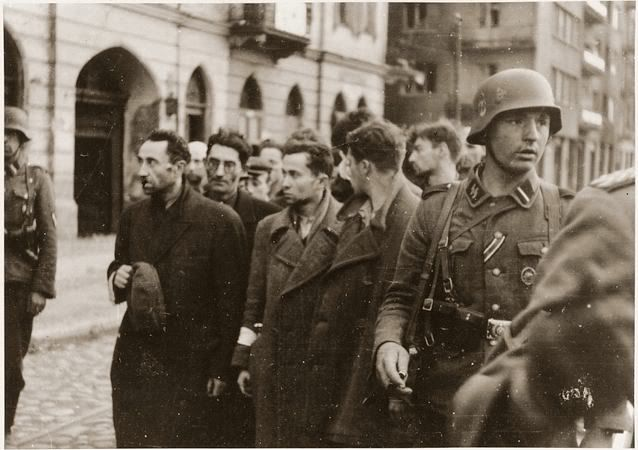 1943 Warsaw Ghetto • Basin of Souls