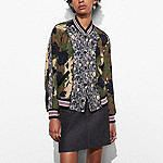 Reversible Satin Jacket - Alternate View 2