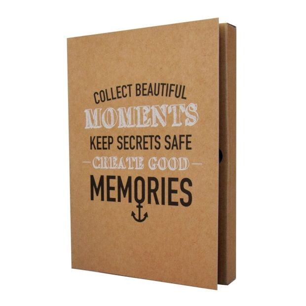 The Gift Label Notitieboek A5 - Collect Beautiful Moments Create  goodd Memories - afbeelding 1 Heel leuk kado idee of om zelf te hebben , #vtwonen
