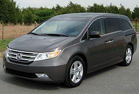 Fourth generation (2011-present) #Honda #hondaodyssey #odyssey #hondavan 2011 Honda Odyssey Touring Elite -- 04-18-2011.jpg