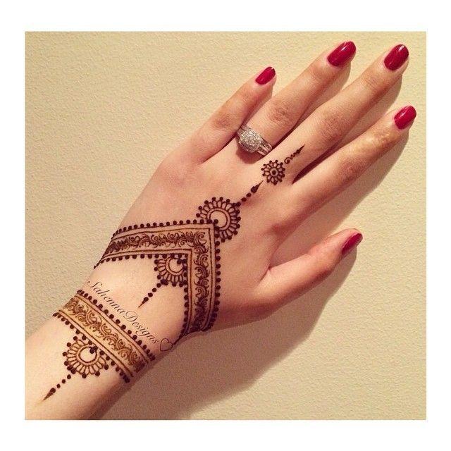 Henna Tattoo Vorlage Leicht Tattoo