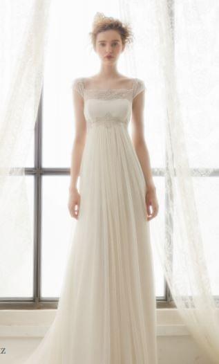 vestidos de novia 2015 corte imperio - Buscar con Google