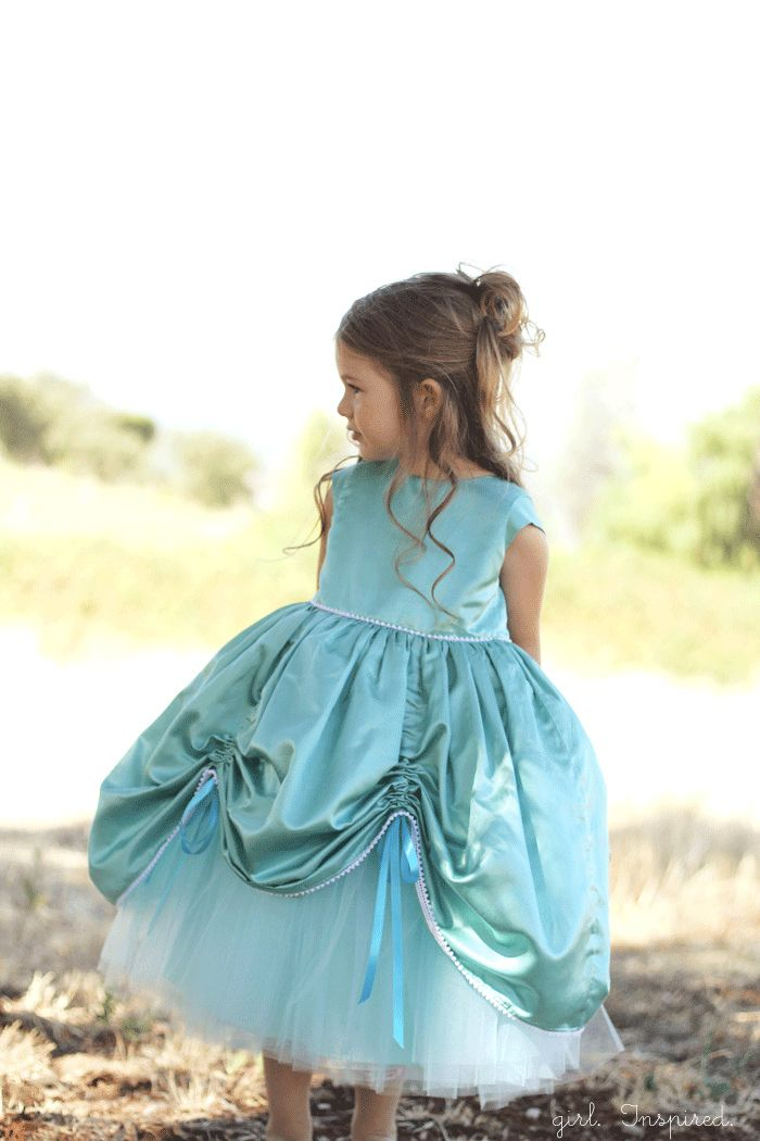 Princess Dress Sewing Pattern for Girls - girl. Inspired.