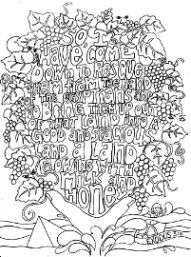 This is part 2 of our Scripture doodles series and covers Old Testament verses.Once again, some of these are doodles, some are colouring pages; and some are just words with room to add your own do...