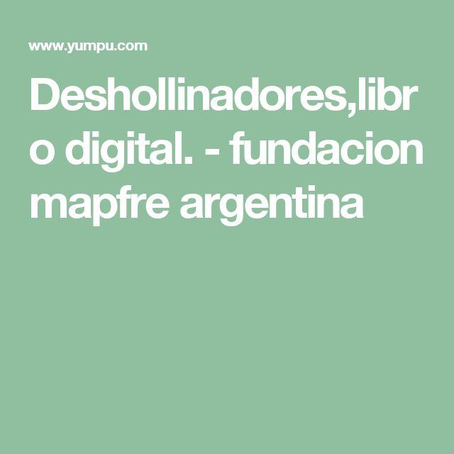 Deshollinadores,libro digital. - fundacion mapfre argentina