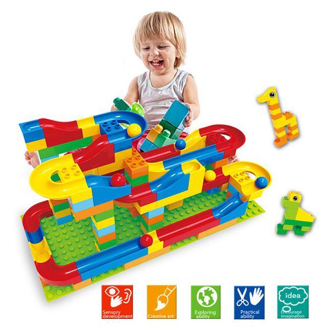 1 conjunto correr rolamento ferroviário bola blocos de construção tijolos enlighten trajetória de aprendizagem educação brinquedos para crianças compatível legoed duplo em Blocos de Brinquedos Hobbies & no AliExpress.com   Alibaba Group